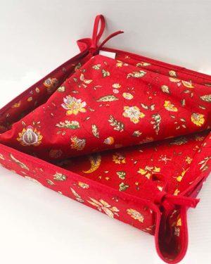 orbeille - fleurs - indienne rouge