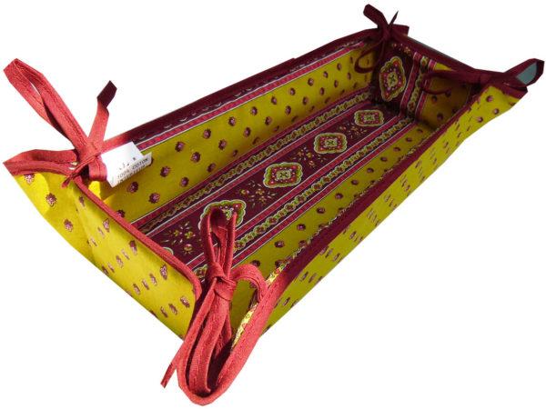 corbeille rectangle - Découvrez notre collection Esterel en promotion. Elles se composent de nappes ainsi que de sets de table également de corbeilles, housses de coussin, sacs baguettes et sets apéro.