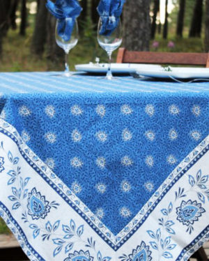 garlaban nappes cadrées bleu