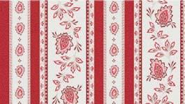 Garlaban rayure rouge Nappes Linéaires Découvrez la collection 100% coton GARLABAN nappes linéaires. Il s'agit de motif répétitif, all over ou rayure. C'est-à-dire que le dessin n'est pas placé sur la nappe. Retrouvez le reste de notre collection GARLABAN sur notre site.