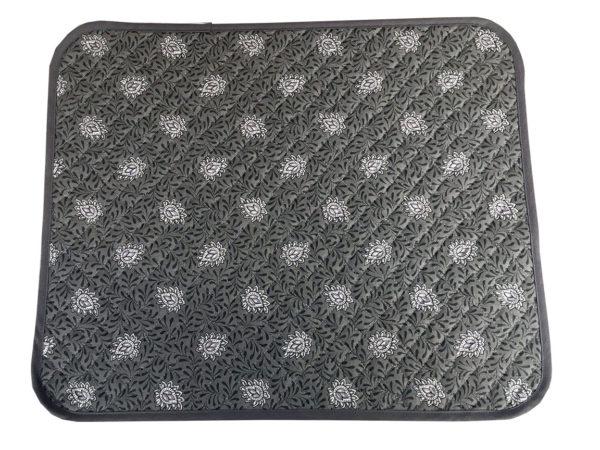 Garlaban Sets de table biais gris