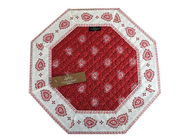 Garlaban Sets de table octp rouge