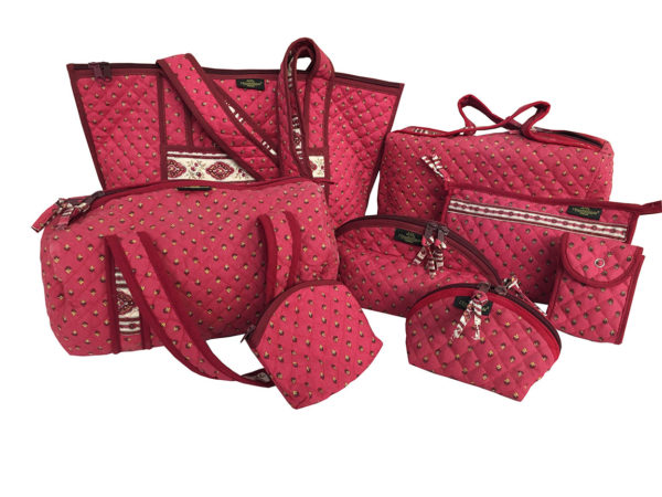 Bagagerie - trousses - sacs- porte monnaie- etuis esterel bois de rose