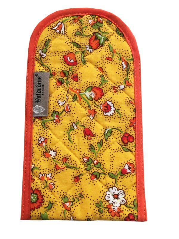 Bagagerie - étui lunettes - Valdrôme - fleurs des champs jaune