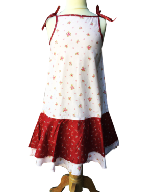 Robe - enfant - provence - collection exclusive -Manon bagatelle ecru 2