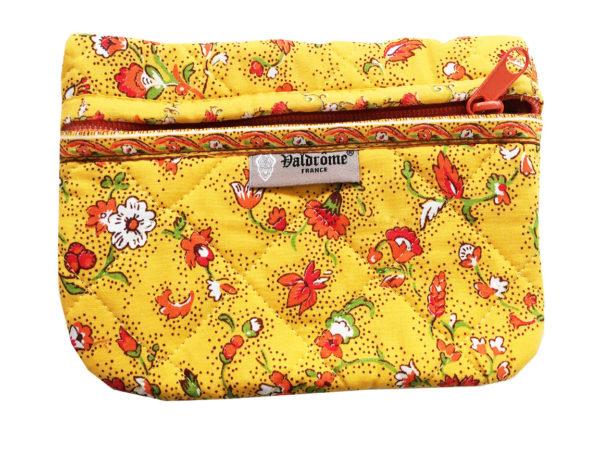 Bagagerie - Trousses - Valdrôme - fleurs des champs jaune