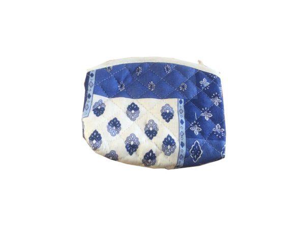 Bagagerie -porte monnaie - patch esterel blanc bleu