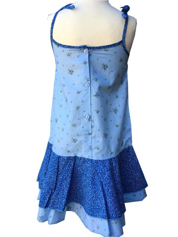 Robe - enfant - provence - collection exclusive -Manon bagatelle bleu