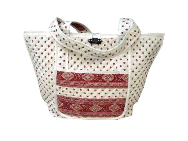 Bagagerie : Vanity et sacs Découvrez notre collection de bagagerie 100% provençale. Vous trouverez vanity, sacs polochon et sacs cabasa associer avec le reste de notre collection. ecru bordeaux sac