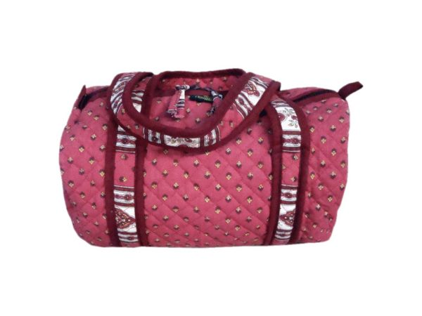 Bagagerie : Vanity et sacs Découvrez notre collection de bagagerie 100% provençale. Vous trouverez vanity, sacs polochon et sacs cabasa associer avec le reste de notre collection. Bois de rose sac