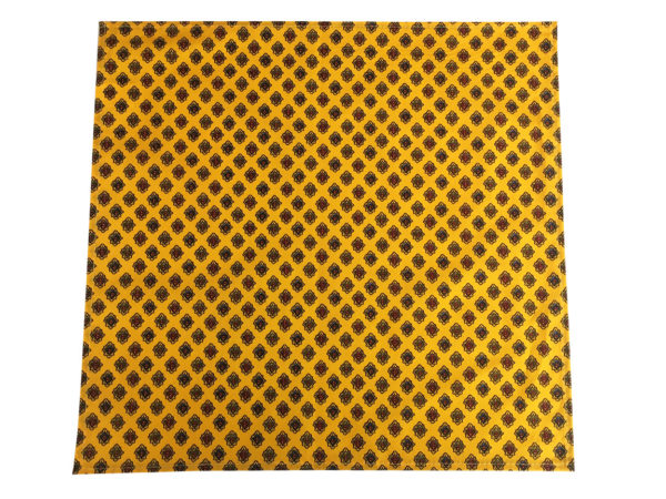 Serviettes - provence - made in france - Valdrôme - batiste diamant jaune