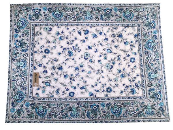 Sets - provence - made in france - Valdrôme - fleurs des champs blanc bleu