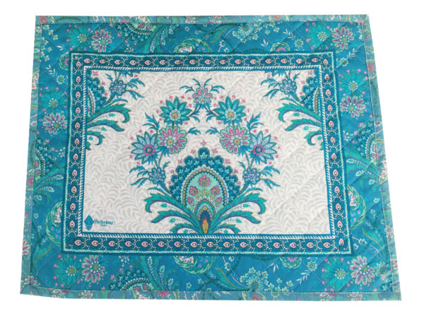 Sets - provence - made in france - Valdrôme - haveli bleu turquoise