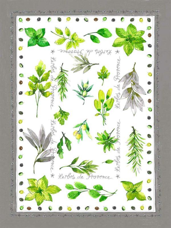 Torchons bachette Herbe de provence Découvrez notre collection de torchons bachette. Retrouvez sur notre site aussi des torchons jacquard, tissé-teint et impression numérique.