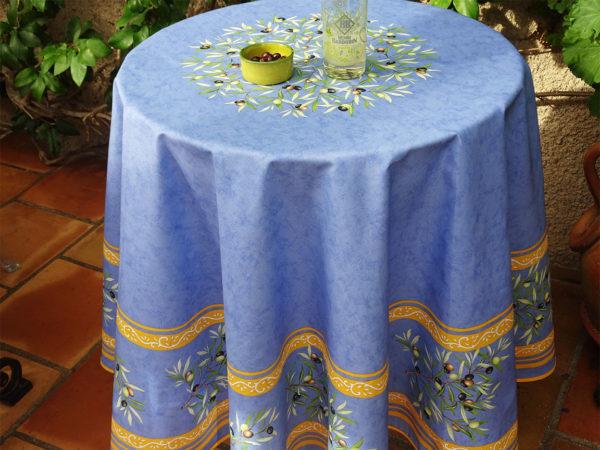 Nappes - provence - made in france -clos des oliviers - olive - bleu