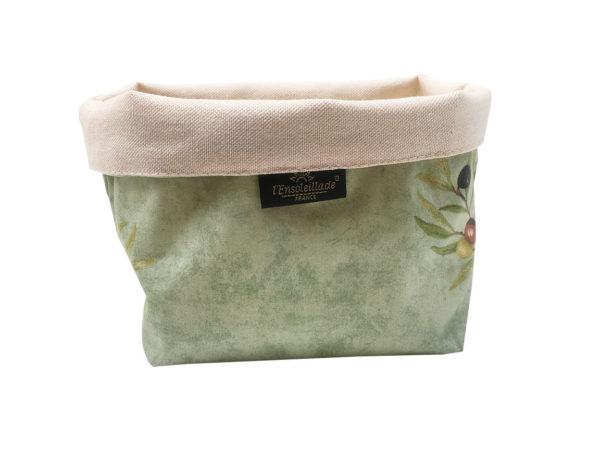 corbeilles enduites - Olives - vide poche - provence - vert