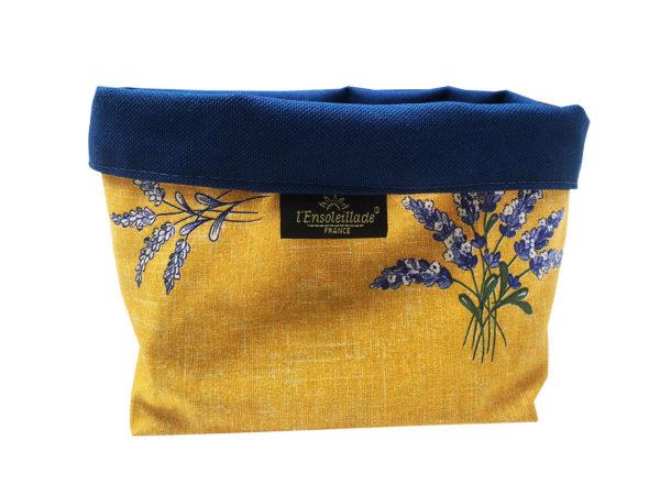 corbeilles enduites - lavande - vide poche - provence -jaune