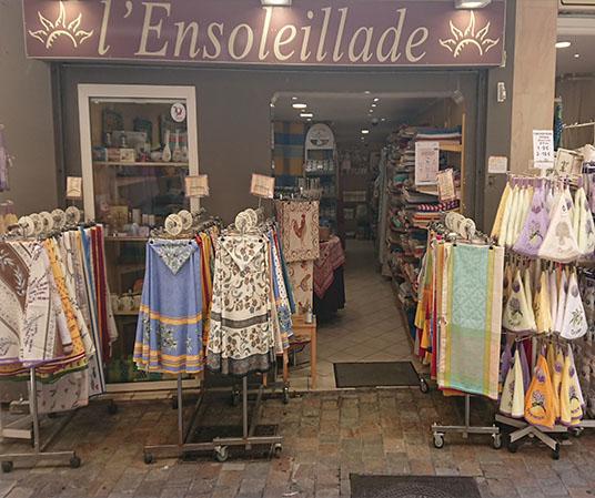 Boutique Ensoleillade Cannes 45 rue Meynadier